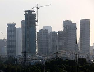 Park Tzameret  tel aviv israel tall building פארק צמרת מגדלי יוקרה בעיר תל אביב ישראל