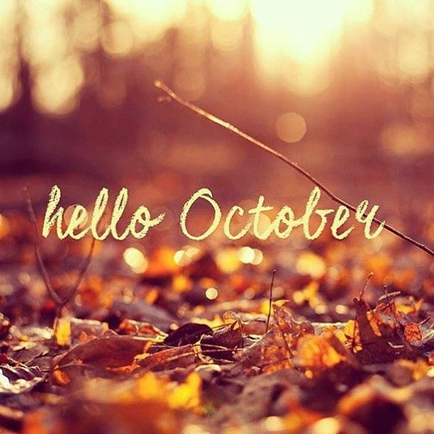 Image result for Hello October