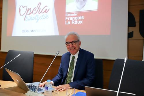 Conferencia DeustoForum y ABAO-OLBE del ciclo Opera Bihotzetik con el barítono François Le Roux