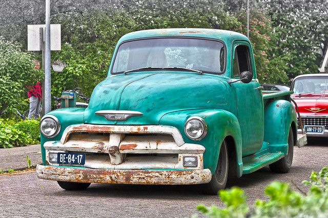 Chevrolet Thriftmaster 3600 Pick-Up Truck 1955 (8328)