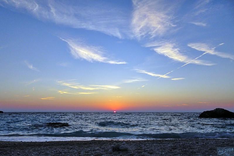 Sunset at Erimitis, Paxos