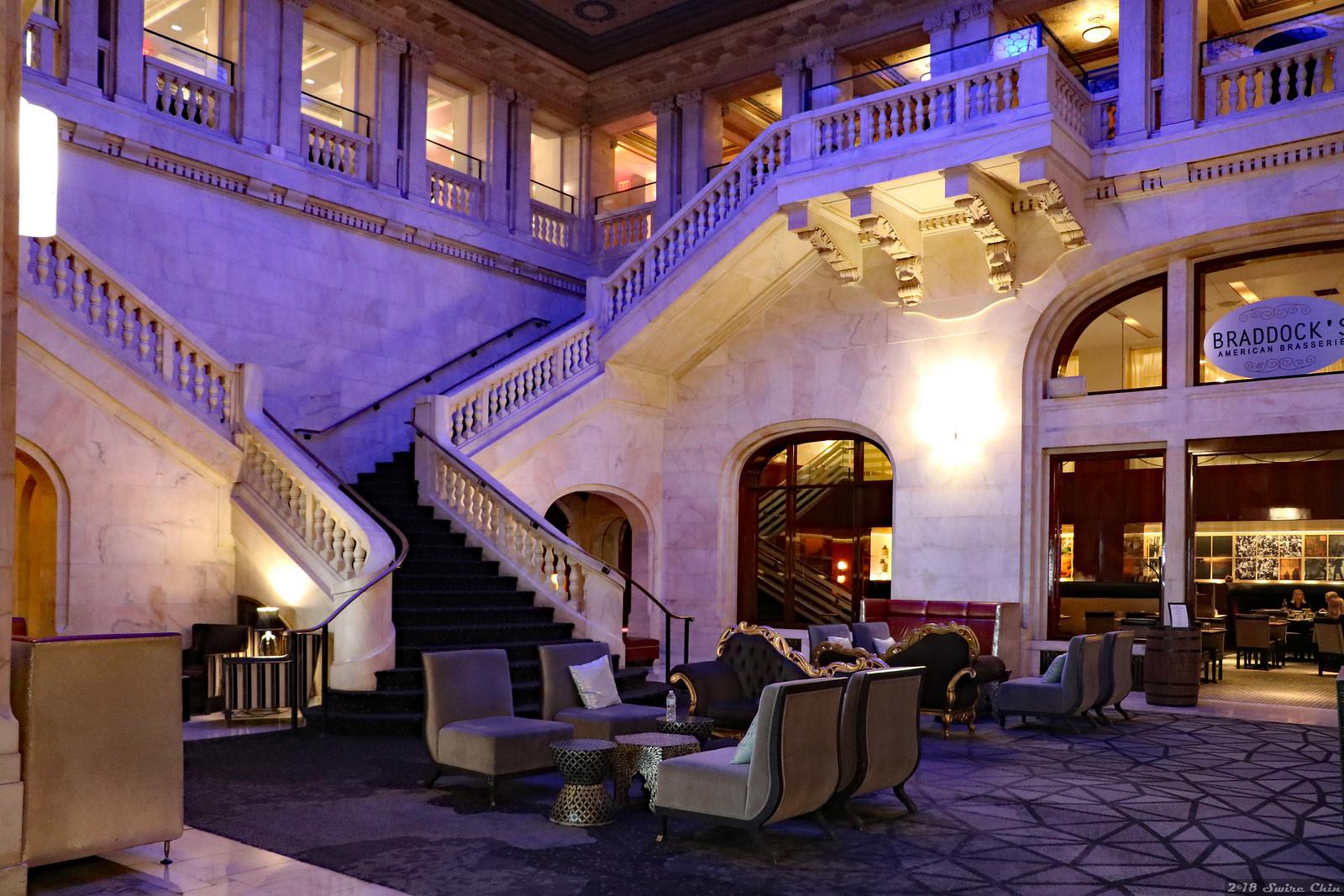 Lobby of Renaissance Hotel Pittsburgh
