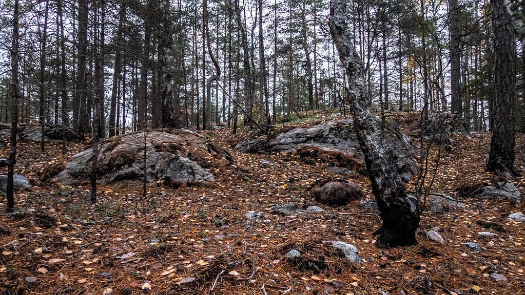 Hiking along Sörmlandsleden