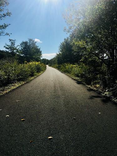 railtrail sullivancounty landscape leadinglines sunlight iphone6s