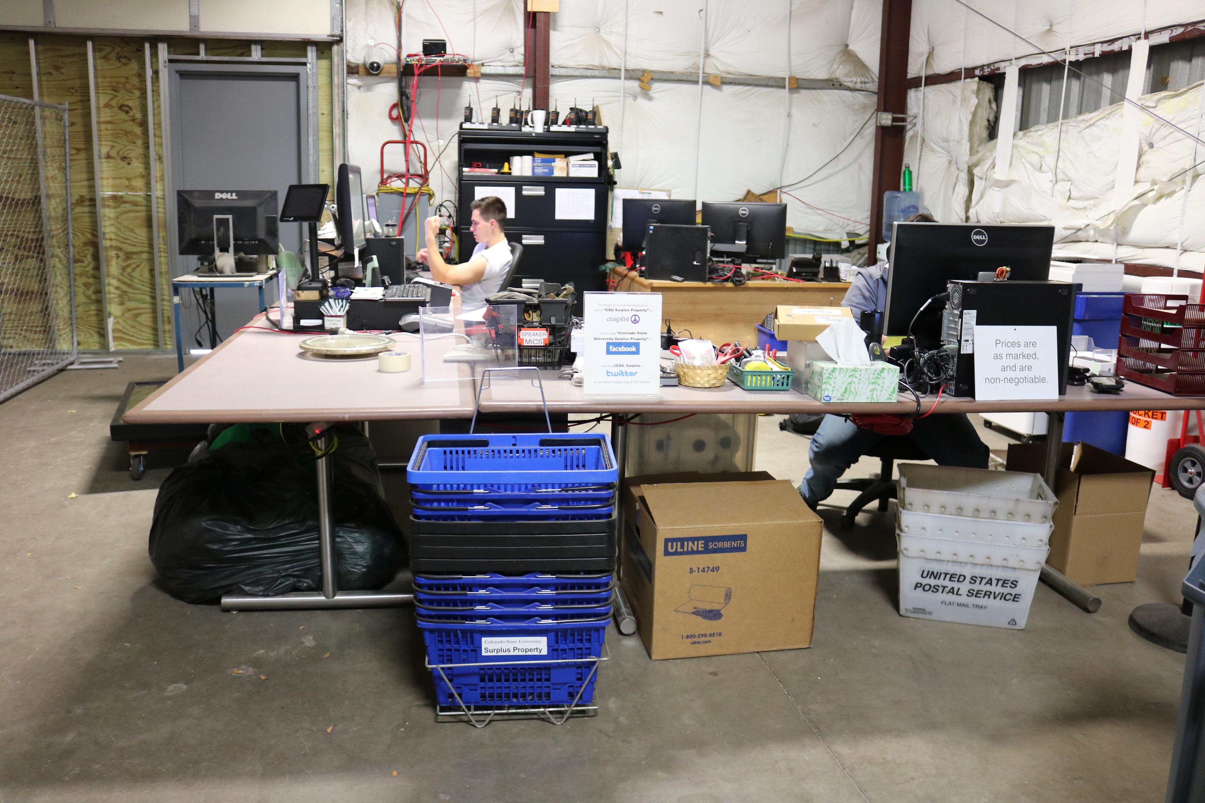 CSU Surplus Renovation   Departments of Central Receiving