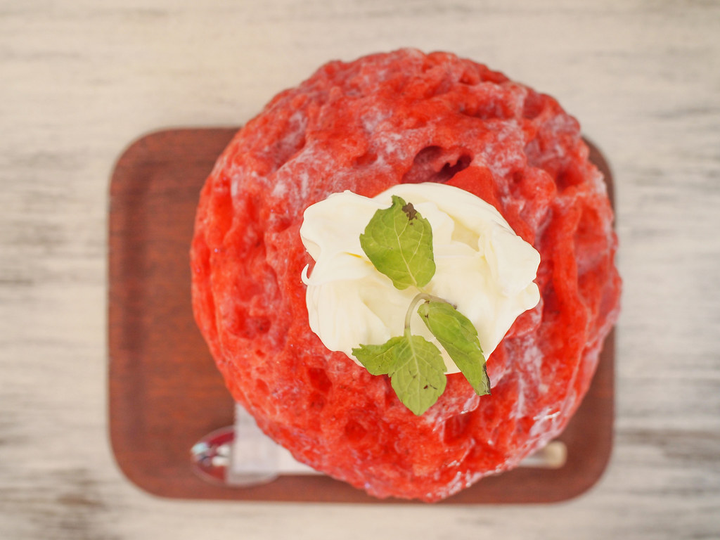 Japanese Ice Shaved - Strawberry Mascarpone