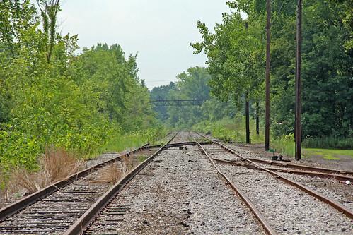 csx csxnewtonfallsbranch tracks railroadtracks