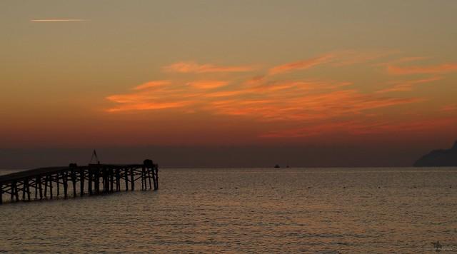 Alcudia majorca spain beach sunrise sept 2018  (37)