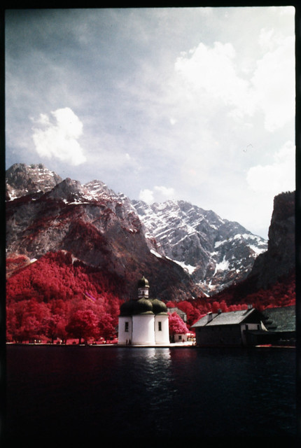 Church (Kodak Aerochrome)