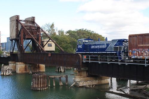 LSRC 1502 - Black River Drawbridge - Port Huron, MI | by tcamp7837