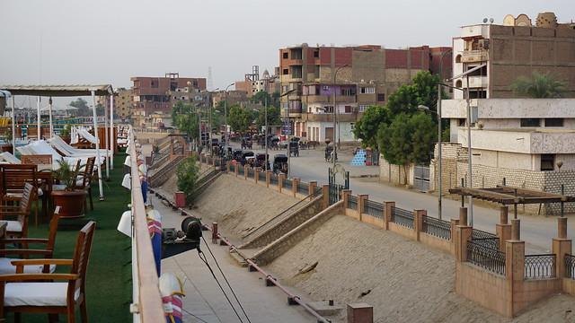 Edfu, Nile River, Egypt.