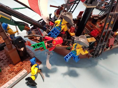 Battle of Blue-sheet turn 2 | by stomatopoda