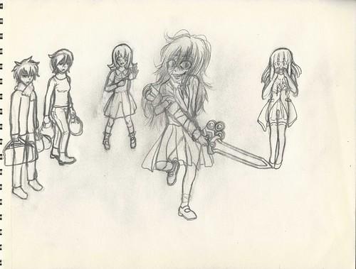 Kuroko IV rough draft