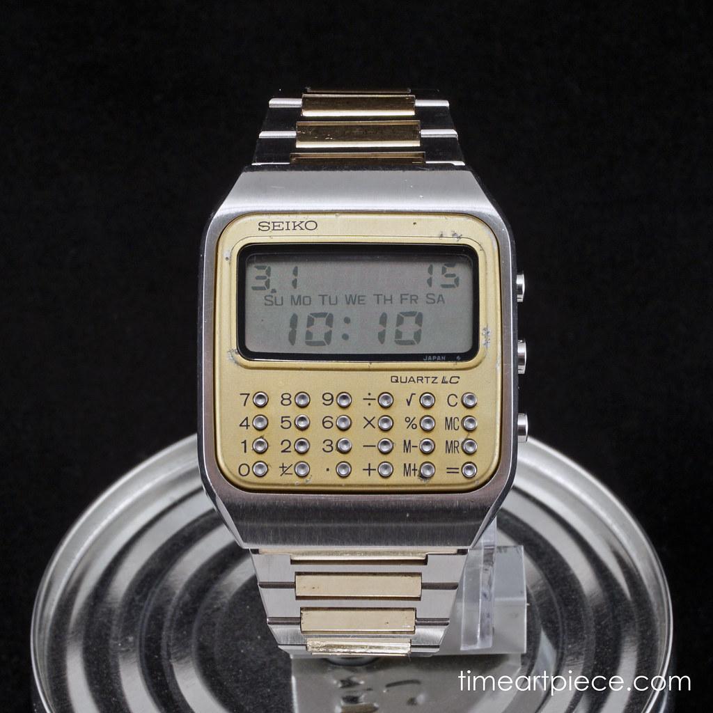Seiko C-153-5007 gold front