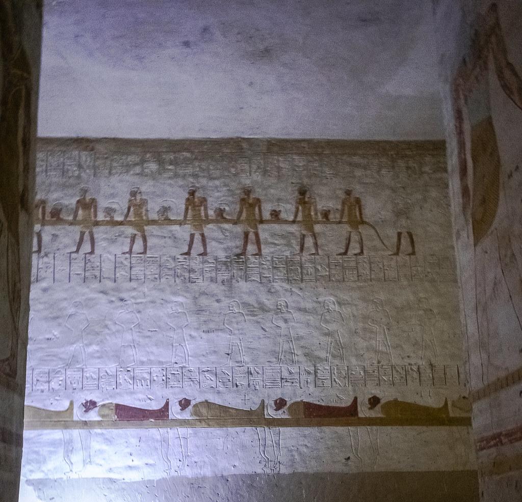 Долина царей. Египет. Древнее захоронение . Egypt DSC_0078