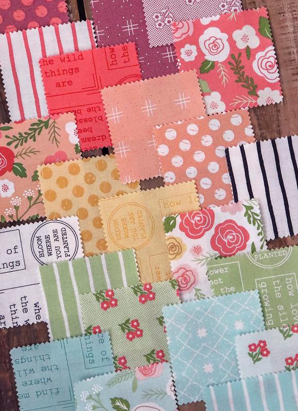 Lollipop Garden fabric