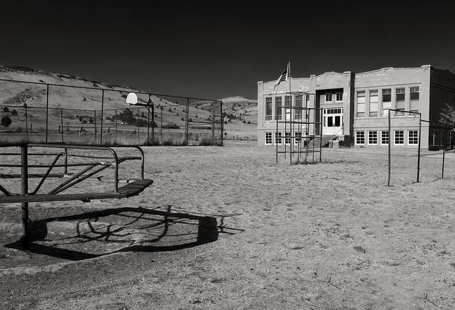 Antelope School: Built in 1924
