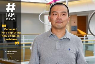 #IAmScience Juexin Wang   by Bond LSC