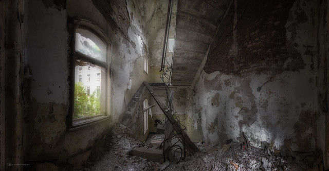stairs in decay