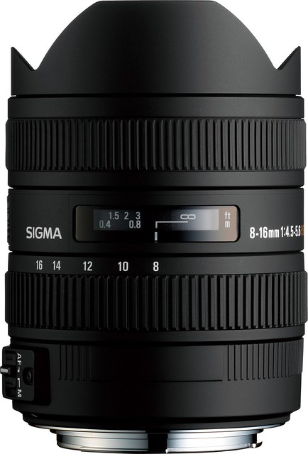 Sigma 8~ 16mm ƒ/4.5~5.6 DC HSM