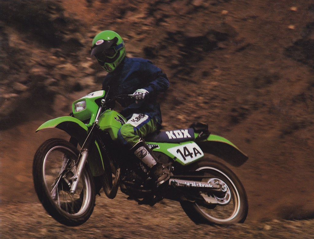 1985 Kawasaki KDX200   Tony Blazier   Flickr