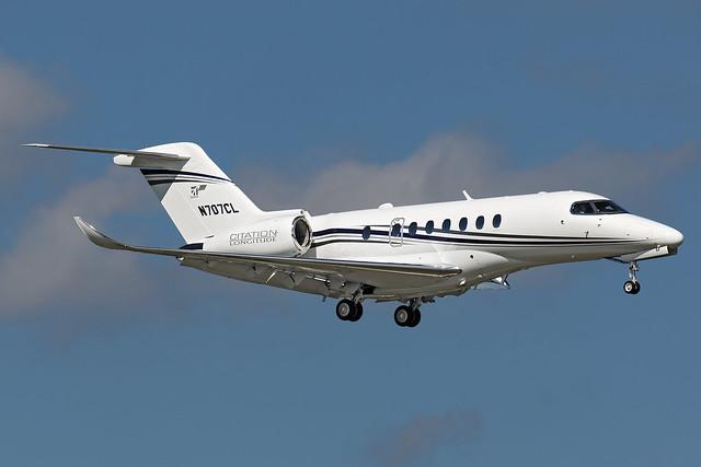 N707CL - Cessna 700 Citation Longitude - KORL - OCT 2018