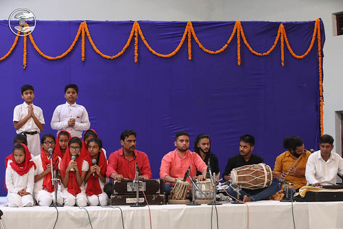 Devotional song by Bal Sangat, Dehradun
