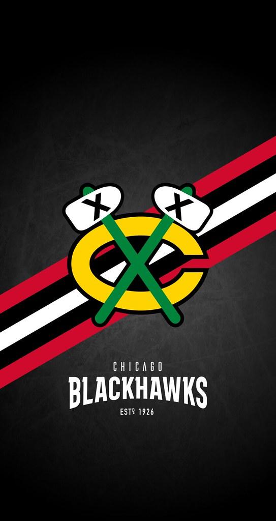 Chicago Blackhawks Nhl Iphone 6 7 8 Lock Screen Wallpape