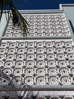 Midcentury Perforated Concrete South Beach