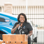 Fontana Mayor Warren Speaks at SoCalGas Fueling Station Ribbon Cutting