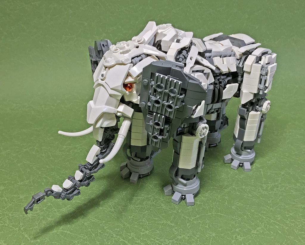 LEGO Mecha elephant-07