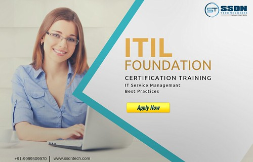 ITIL Training In Delhi – SSDN Technologies
