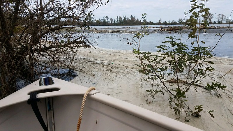 Coal Ash spills into the Cape Fear River - Photo Waterkeeper Alliance
