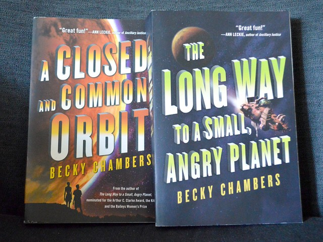 Current Reading 2x Becky Chambers