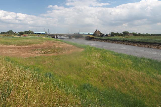 The River Welland near Fosdyke