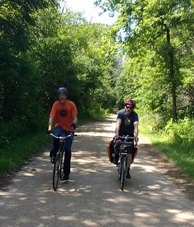 John and Michael hittin' some gravel in Lake County | by boulevard.bikes