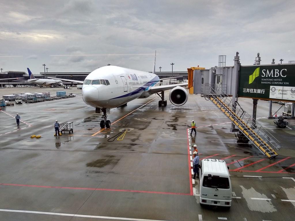 ANA Aircraft at Narita Airport