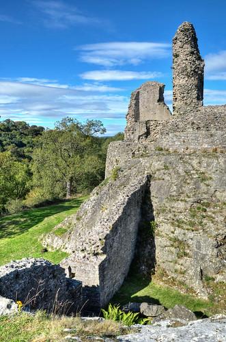 wales powys montgomery montgomerycastle castleruins