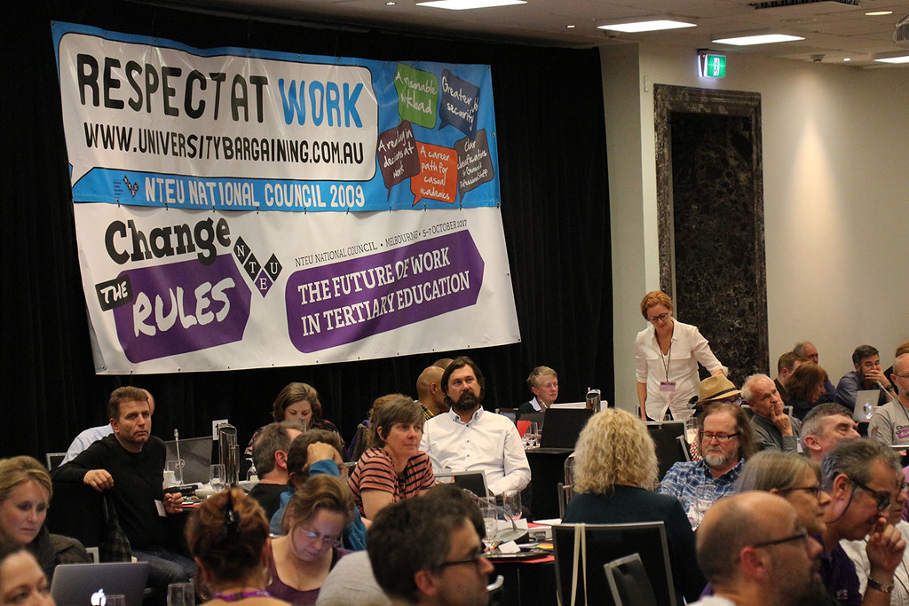 Ncm2018 Day2 0512 Nteu National Council 2018 National Tertiary Education Union Flickr