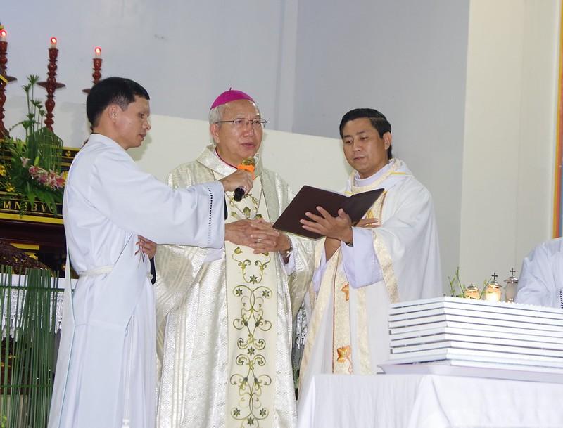 Lễ ra mắt TNTT xứ  đoàn Đa Minh Tân Phong, QB (1)