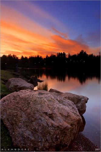 uk red england lake 20d colors forest sunrise canon landscape oasis relection flickrsbest aplusphoto winfel
