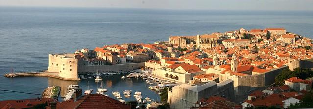 Dubrovnik at sunrise (see description)