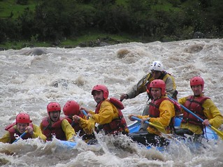 White water rafting in Peru 1