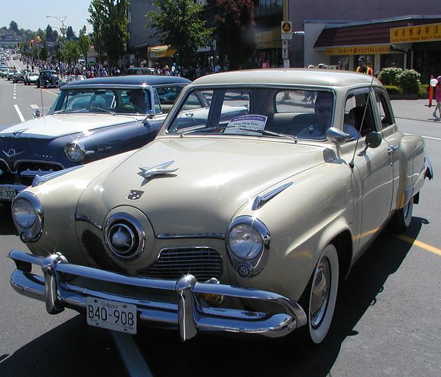 1950 Studebaker Commander 4-door sedan