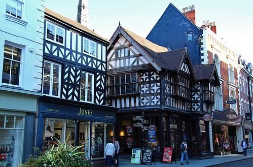 europe england shropshire shrewsbury streetview simplysuperb halftimberedhouse historicbuilding tudor architecture