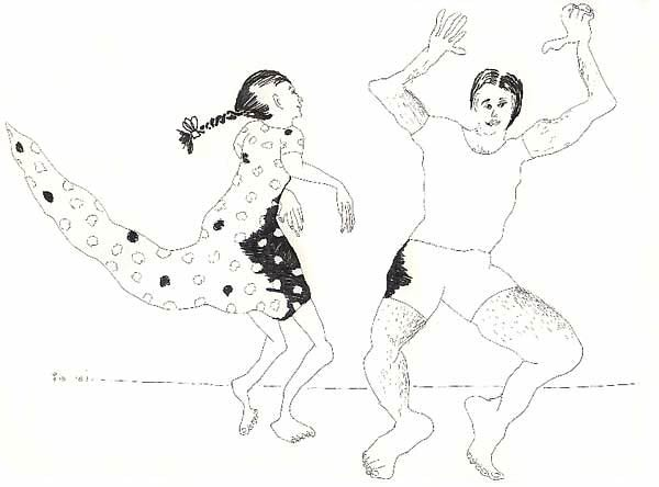 drawings of man and woman relationship and love drawing men woman sketch art ink on paper by israeli painter raphael perez