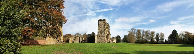 Ashby Castle Panorama