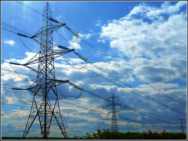 Pylons and Power Cables ...
