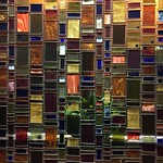Glass wall in Hotel Andaluz