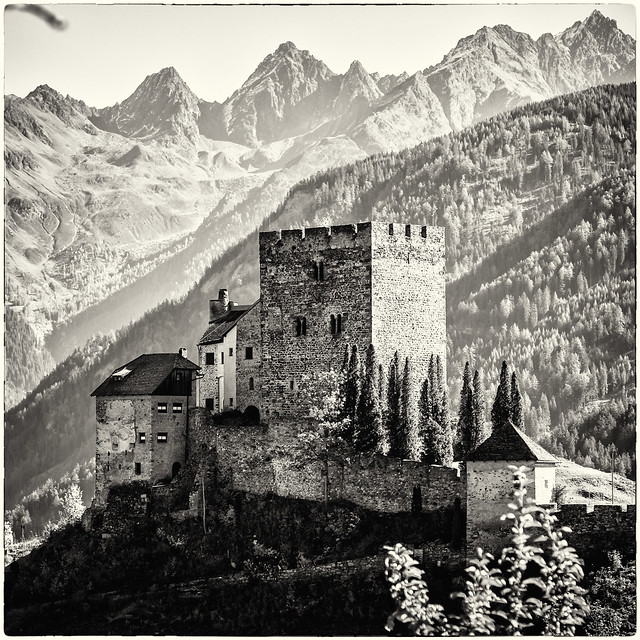 The Castle and the Mounts...